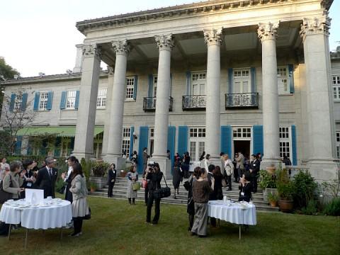 サンダーソン英国大使館祝賀会9