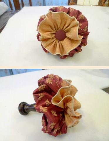 ホルダーのお花