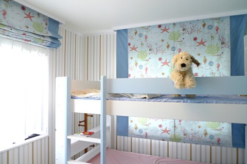 子供部屋のシェード