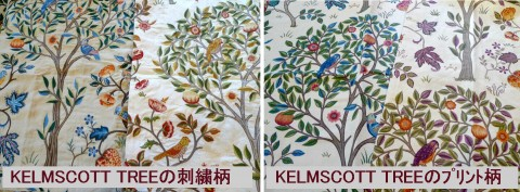 Kelmscott Tree Embroidery and Print