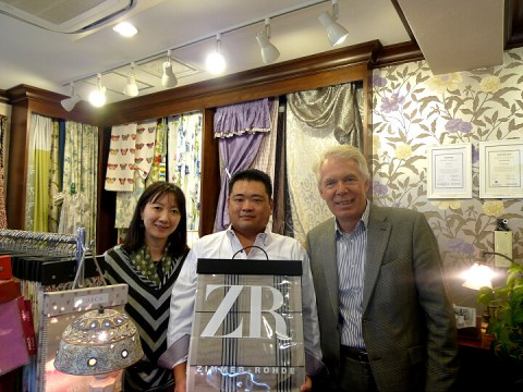 Mr. Rusche of Z+R at Decorador