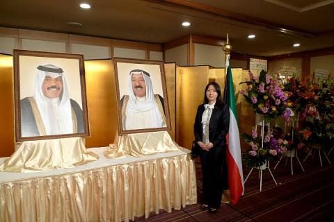 クウェート国ナショナルデーレセプション