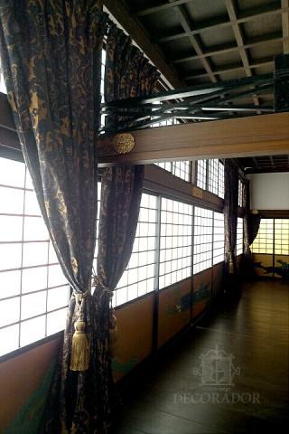 スタジオ内 二条城の廊下