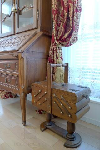 アンティークの裁縫箱