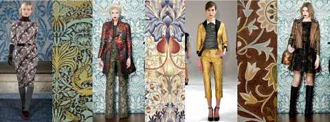 New York Fashion Week William Morris