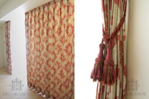 ナチュラルでシンプルなカーテン