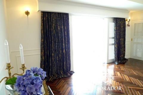NHK八重の桜のセットと同じカーテンです