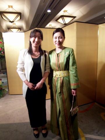 モロッコ王国大使夫人と