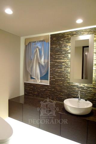 洗面所のカーテンの画像