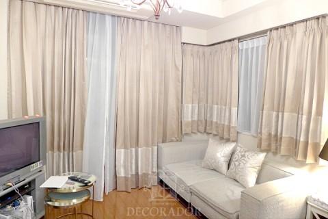 白を基調としたモダンでエレガントな空間