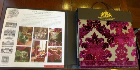 the royal collection見本帳の画像