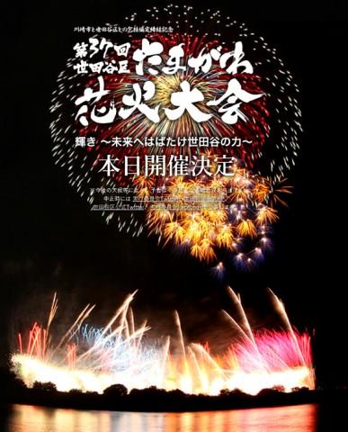 2015年 世田谷区たまがわ花火大会の画像