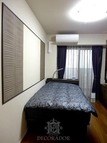シックな寝室