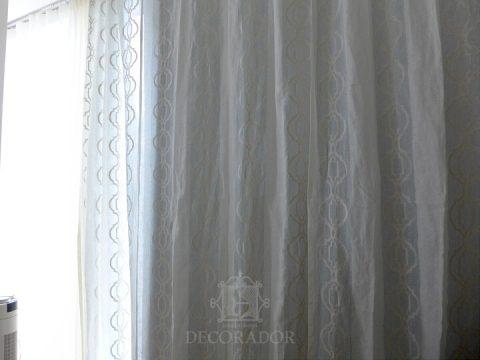 遮光カーテンを引くと夜も安心して休めます♪