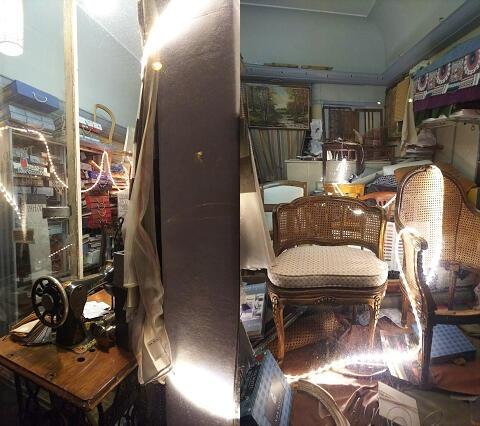 パリの椅子工房