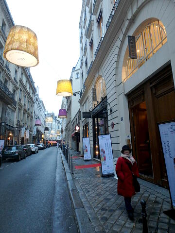 Rue de Mail 夕方