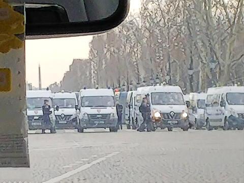 Paris 2019 demonstraion 1