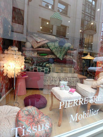 Pierre Frey window display