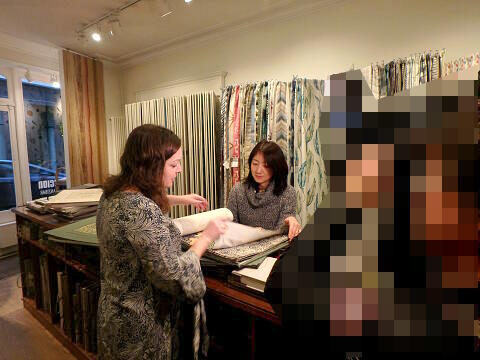 style library パリ右岸ショールーム 1