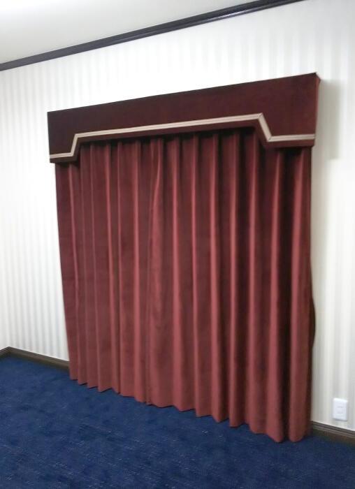 curtain and valance