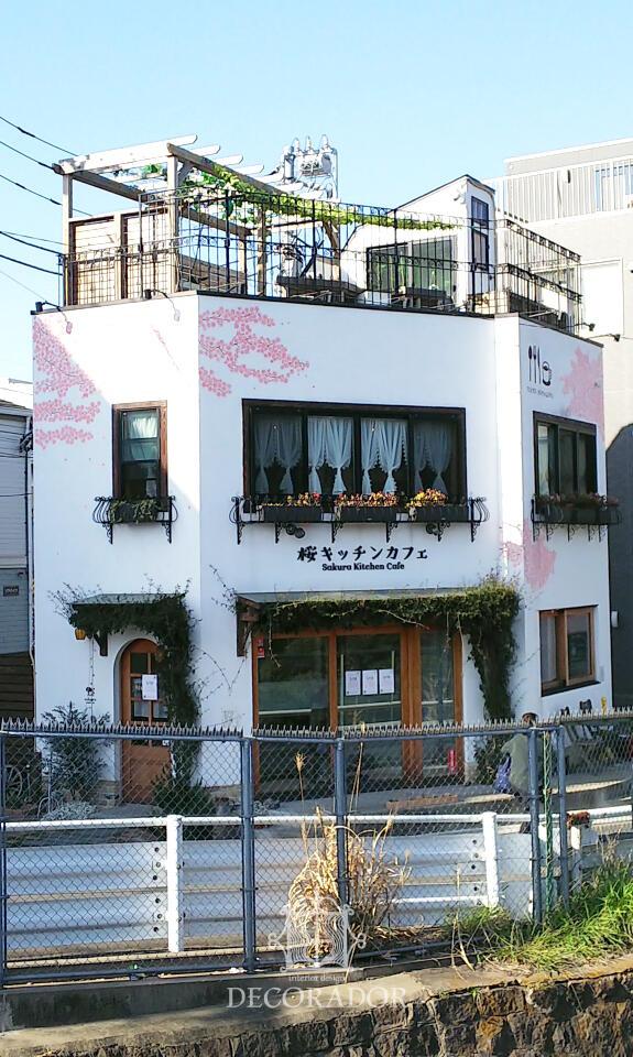 桜キッチンカフェ 遠景