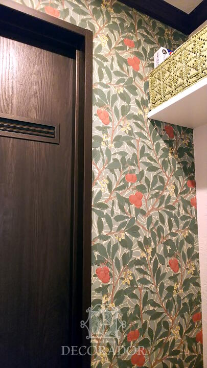 William Morris Arbutus wallpaper