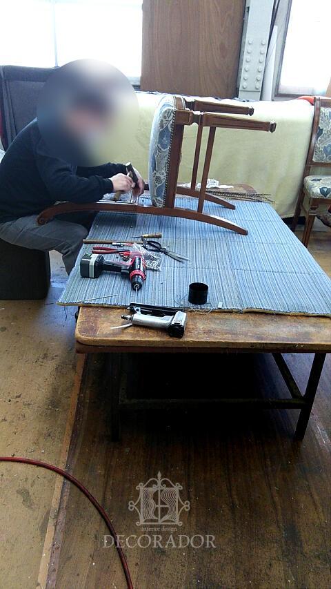 椅子の張替え 職人