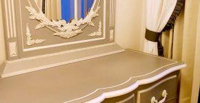 家具とカーテンのコーディネート