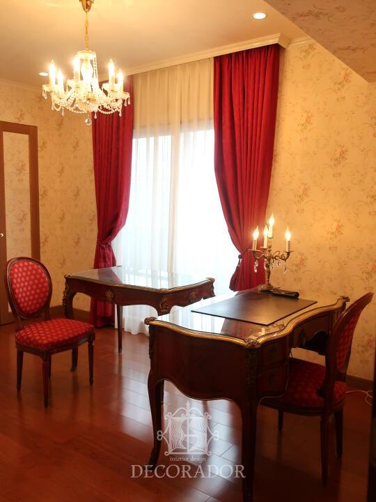 ヨーロッパのホテルのような書斎