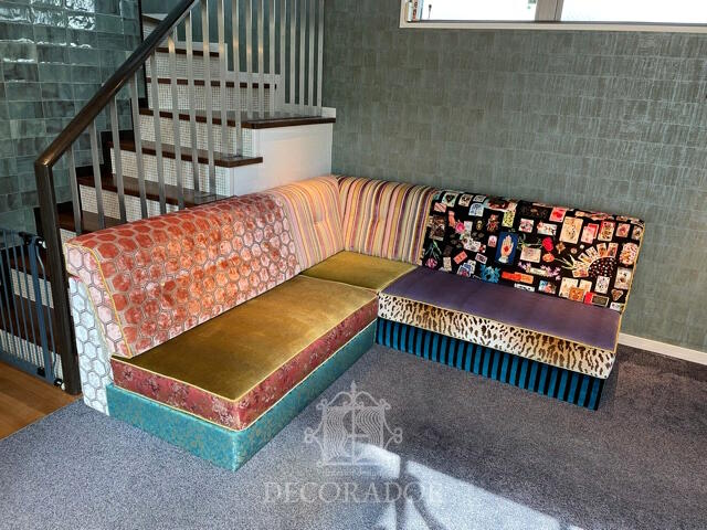 個性豊かな椅子張替えアレンジ
