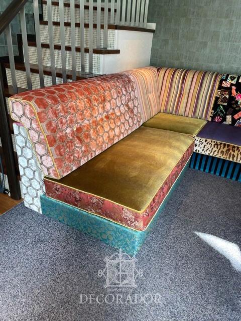 楽しい椅子張替えアレンジ