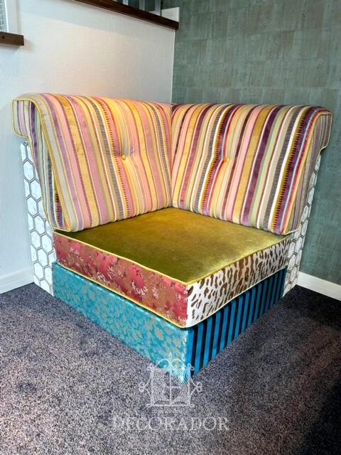 世界で一つの椅子張替えアレンジ